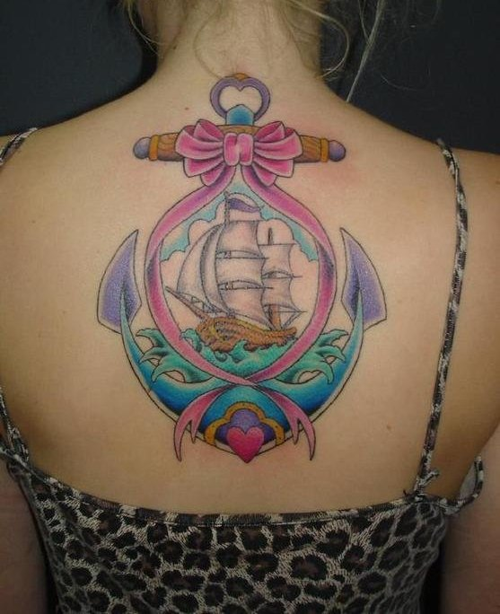 Pretty Nautical Tattoos For Girls And Women