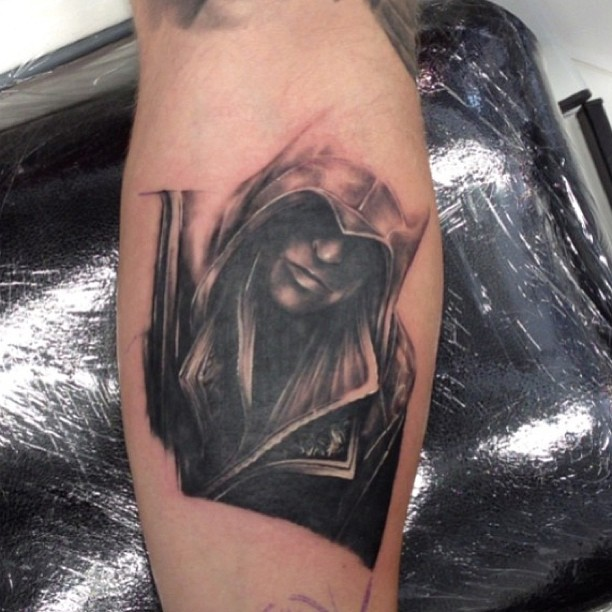 Realism Assassins Creed Tattoo