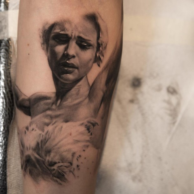 Realism People Portrait Tattoo