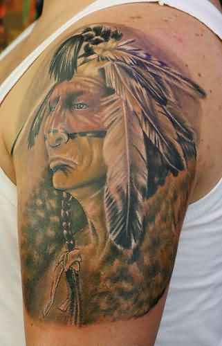 Realistic Native American