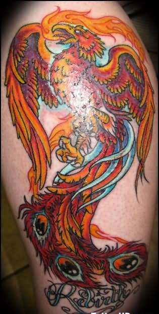 Rebirth Phoenix Tattoo