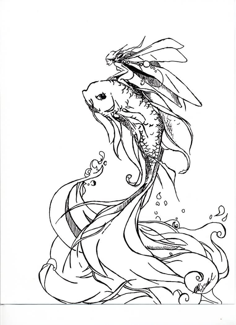 Redone Pisces Fish Tattoo Sample
