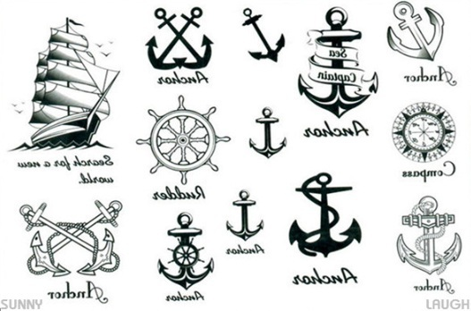 Rew Release Nautical Tattoo Designs