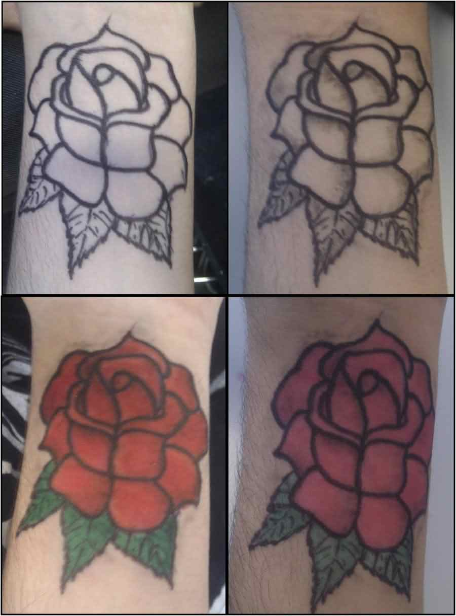Rose Wrist Tattoos Pic