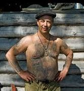 Russian People's Body Tattoos