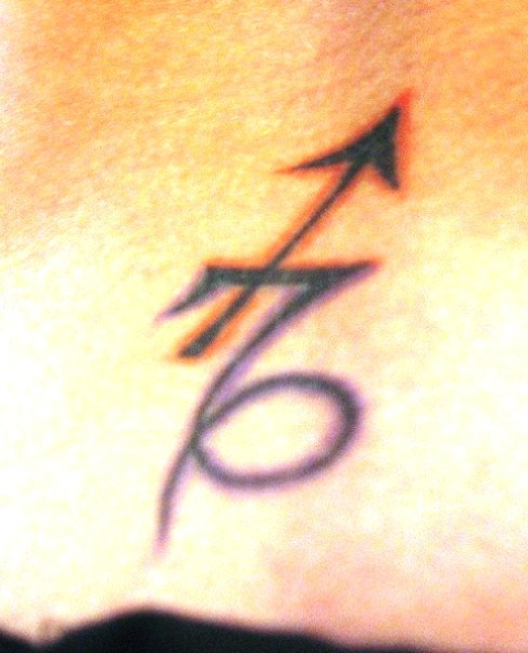 Sagittarius And Capricorn Symbol Tattoos