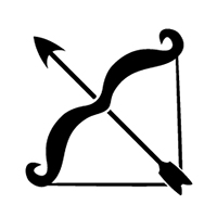 Sagittarius Bow And Arrow Tattoo Version