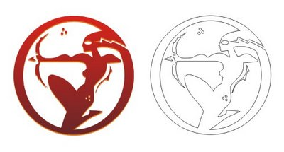 Sagittarius Circle Tattoos