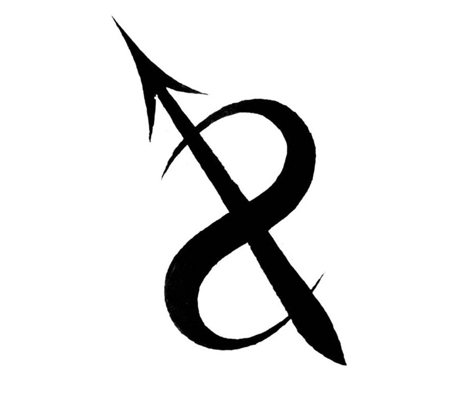 Sagittarius Sign Of The Zodiac Tattoo Model