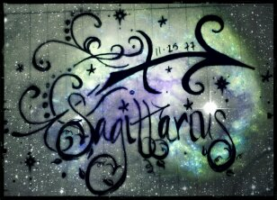 Sagittarius Tattoo Idea Sparkly