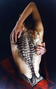 3D Tattooed Back