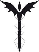 Dark Black Sword Tattoo Design