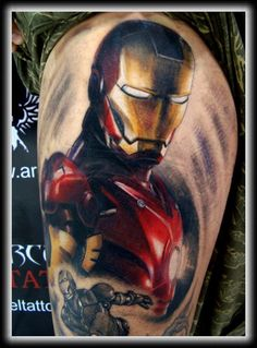 New 3D Color Tattoo Photo