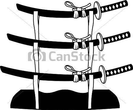 Samurai Sword Tattoo Designs