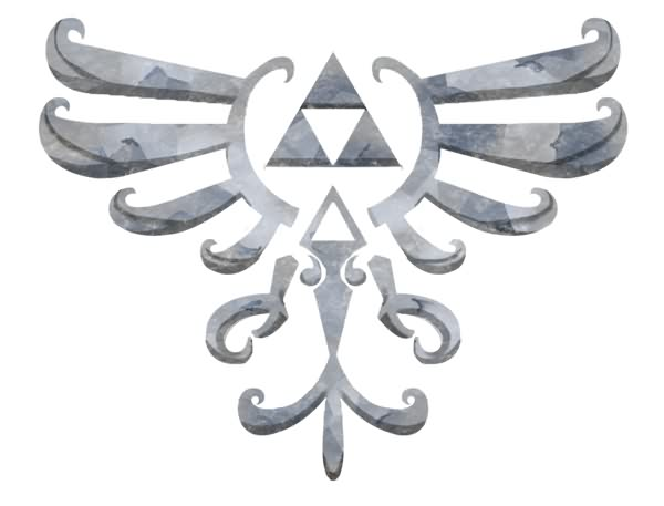 Skyward Sword Tattoo Model