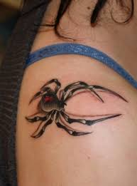 Spider 3D Tattoo