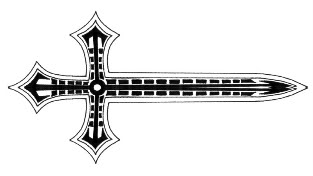 The Latest Cross Sword Tattoo Design