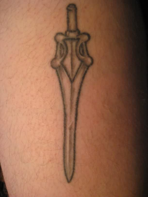 The Sword Tattoo