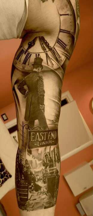 realistic-3d-tattoos-on-sleeve-2