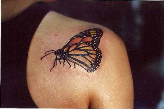 truly-amazing-3d-butterfly-tattoo