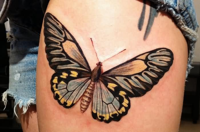 truly-awesome-3d-butterfly-tattoo-2