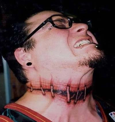 truly-awesome-3d-stitched-tattoo-on-neck