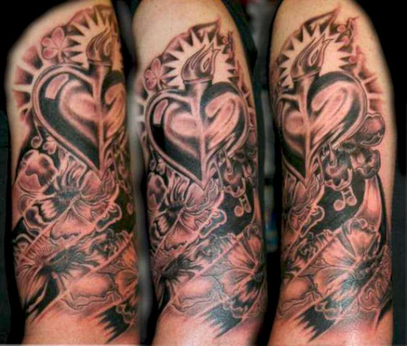 truly-awesome-3d-tattoos-on-sleeve