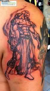 Amazing Warrior Tattoo For Men