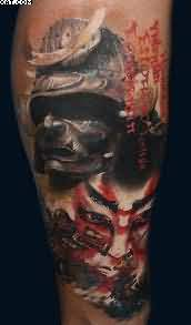 Amazing Warrior Tattoo