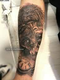 Amazing Warrior Tattoos On Arm