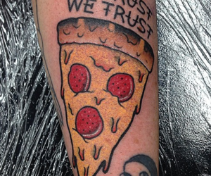 Awesome Pizza Tattoo