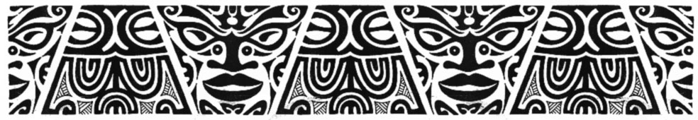 Black Polynesian Samoan Arm Band Tattoo Design