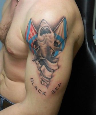 Black Sea - Shark Tattoo