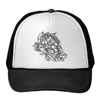 Butterfly Seahorse Tattoo Hat