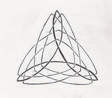 Celtic Triangle Tattoo Design