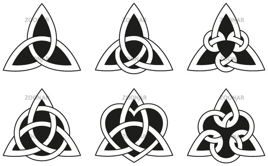 Celtic Triangle Tattoos Pack