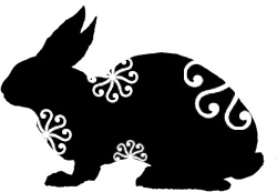Chinese Zodiac Animal Rabbit Tattoo Design