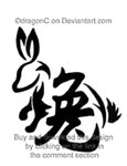 Chinese Zodiac Rabbit Tattoo Model