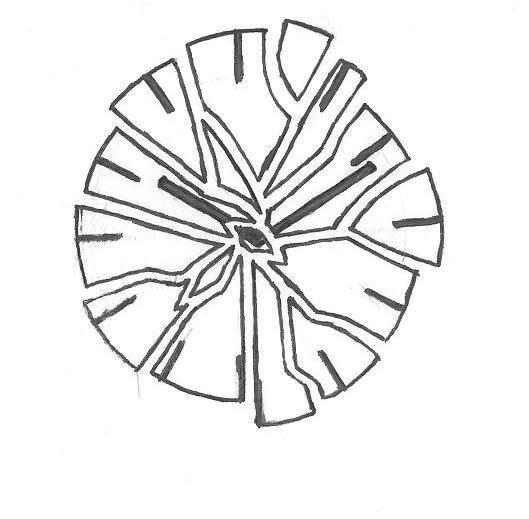 Clock Tattoo Drawing