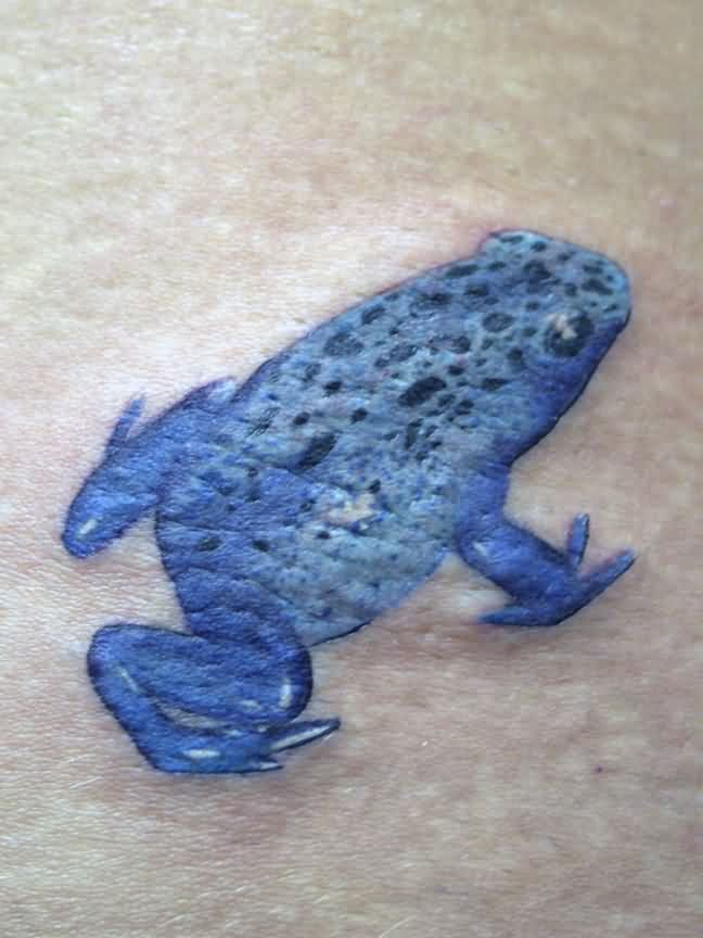 Cool 3D Frog Tattoo