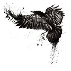Crow Tattoo Sample (2)
