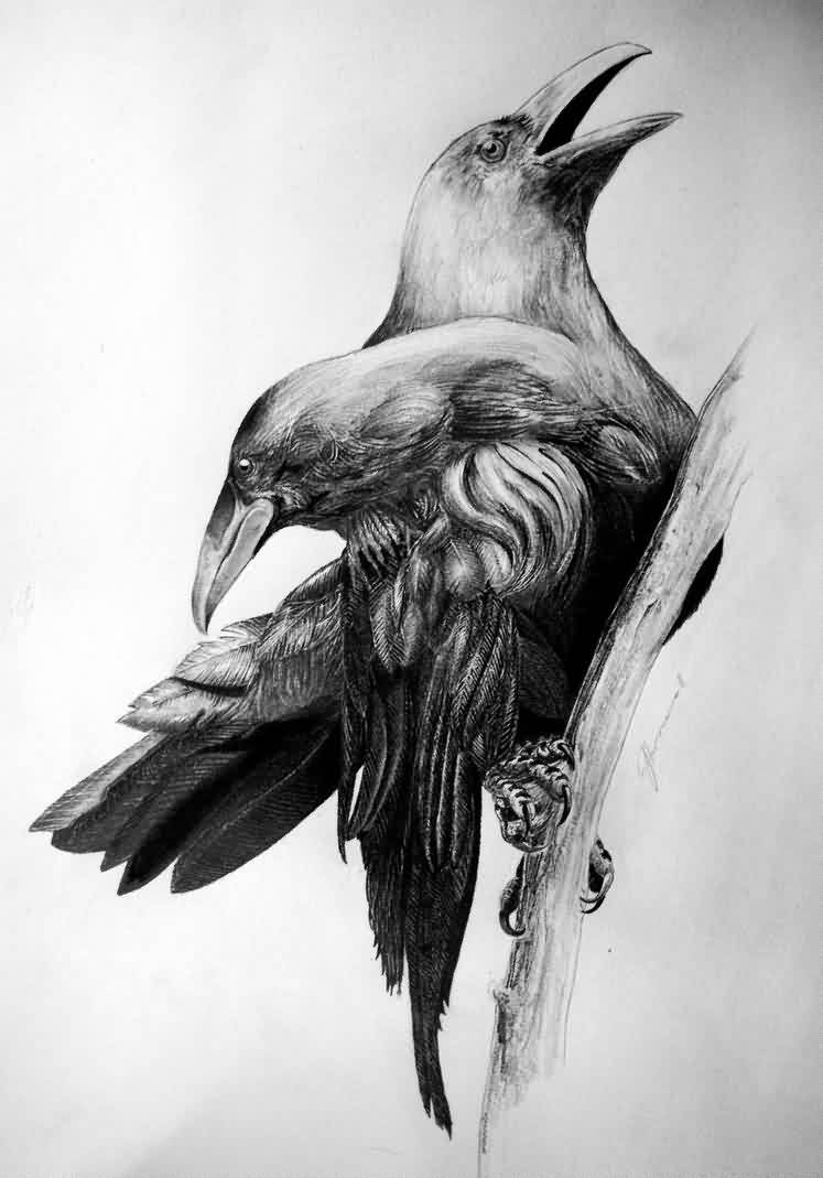 Crows Tattoos Page (2)