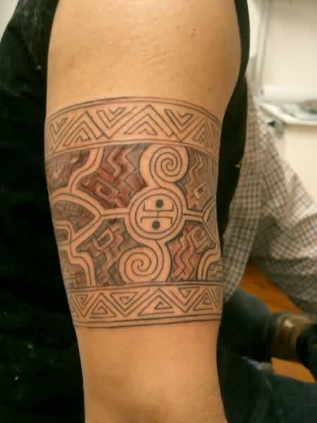 Different Polynesian Armband Tattoos