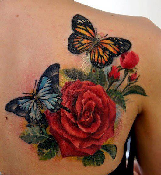 Elegant 3D Tattoos Specially For Girls