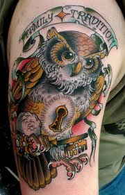 Family Tradition - Owl Tattoo