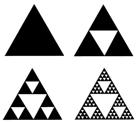 Four Triangle Tattoos Designs