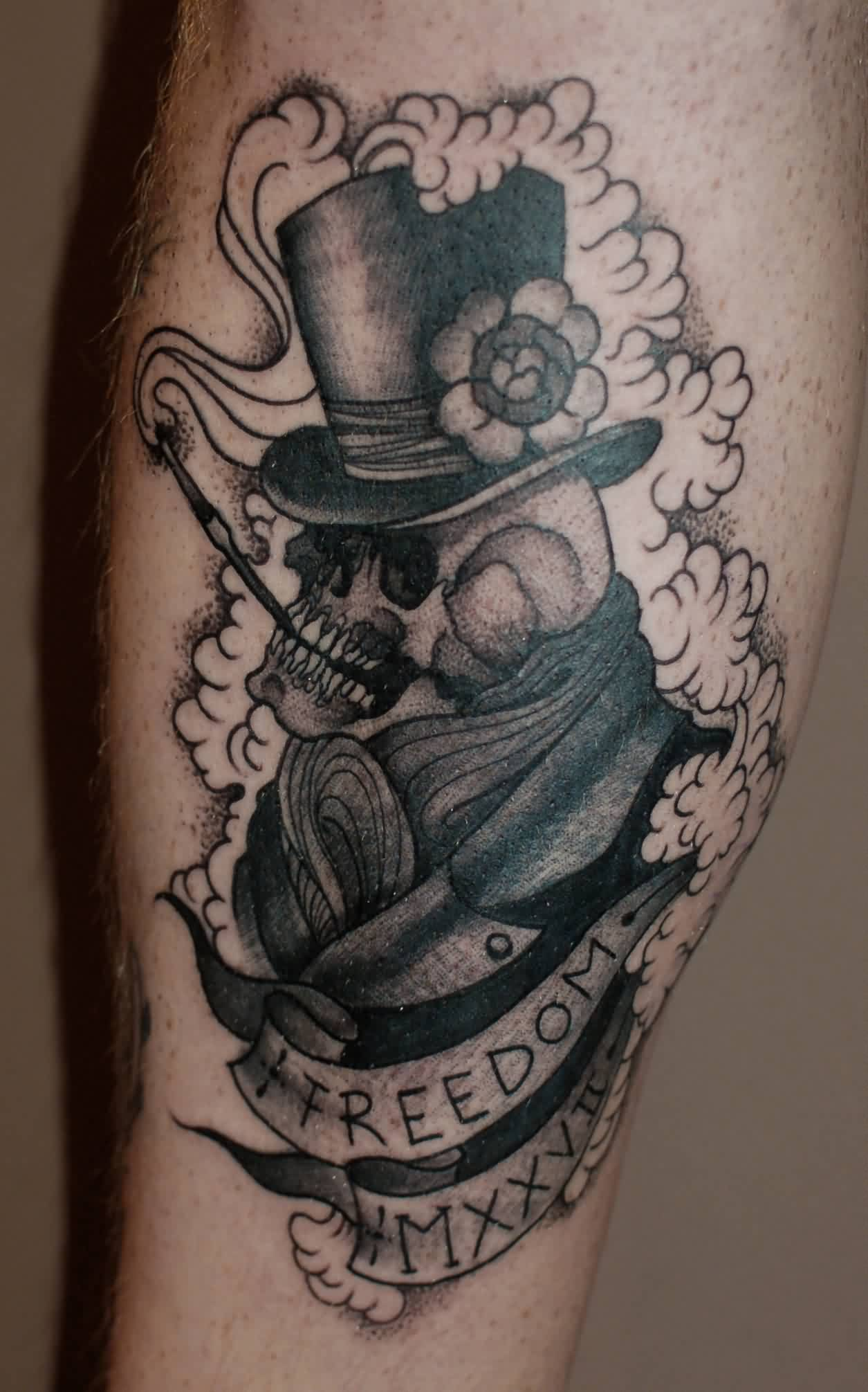 Freedom - Crow Tattoo