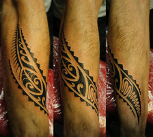 Freehand Polynesian Tattoos
