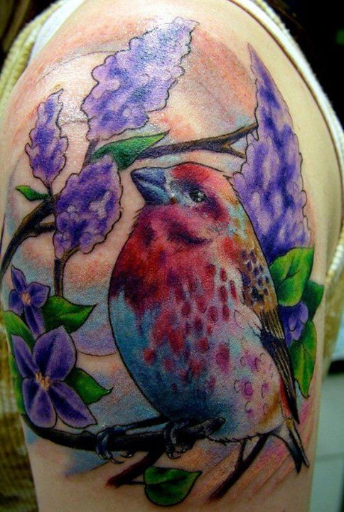 Gorgeous 3D Tattoos On Upper Arm