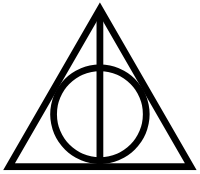 Harry Potter Triangle Tattoo Model